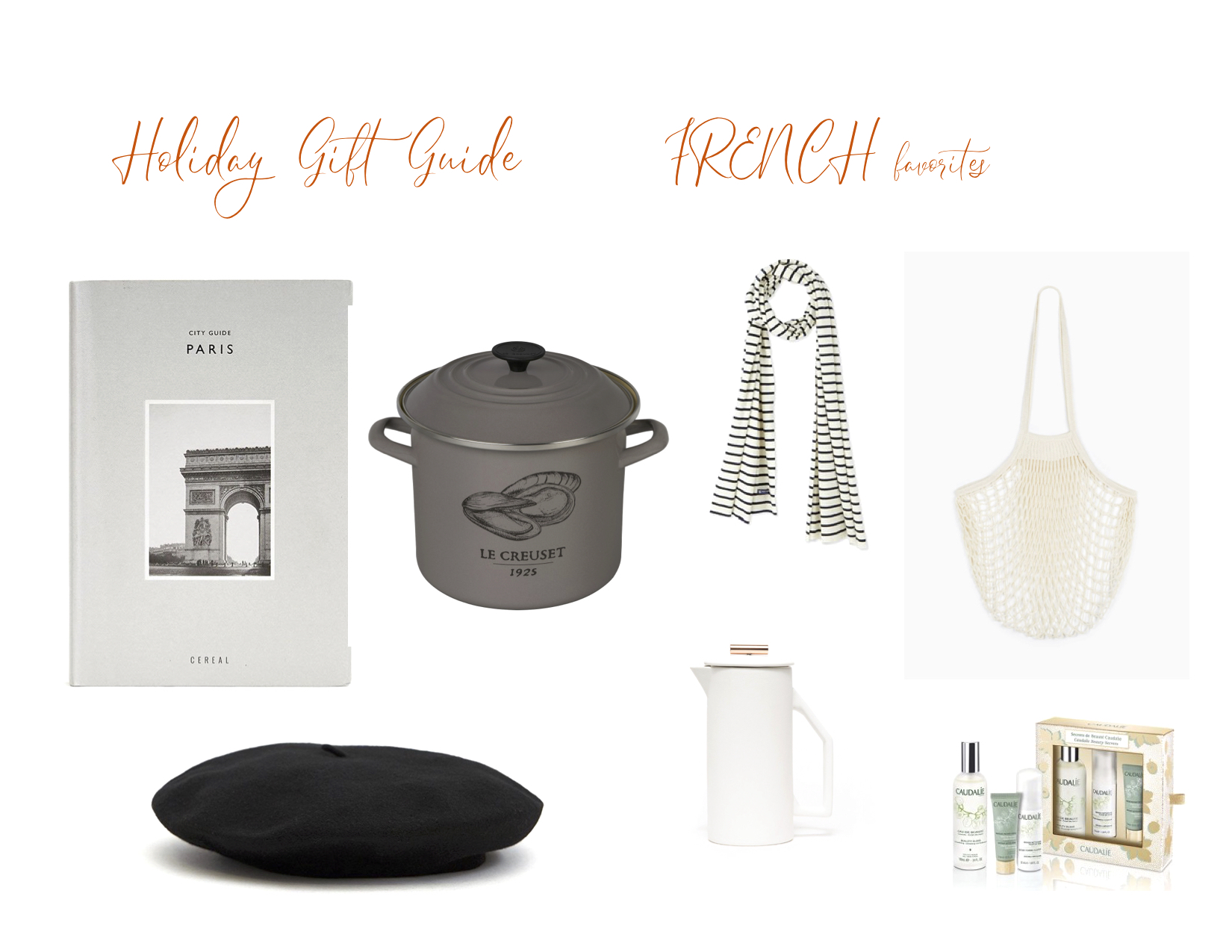 French Gifts 2018 - Saffron and Honey