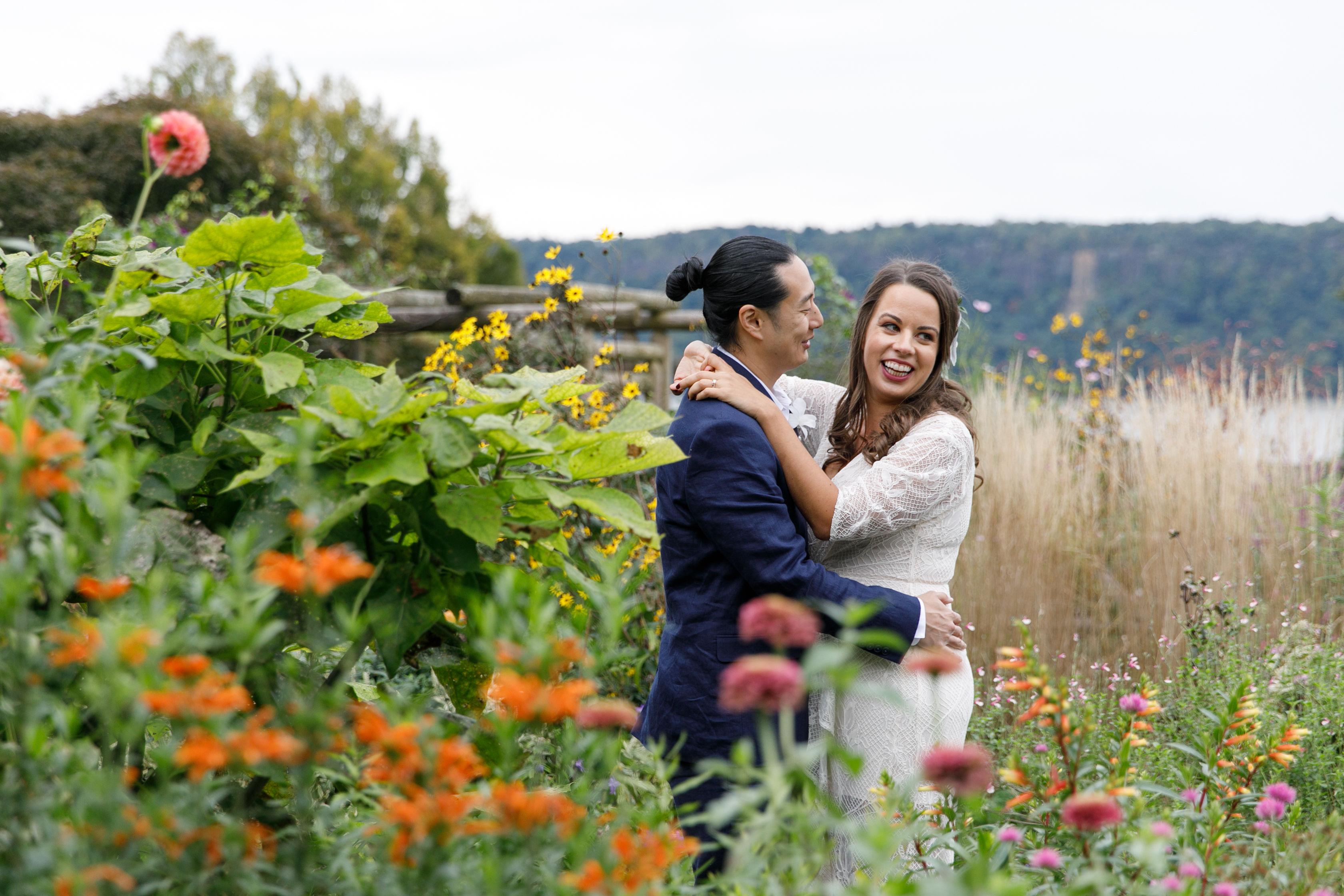 We got married! - Saffron and Honey
