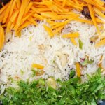 Indian Tricolor pulao