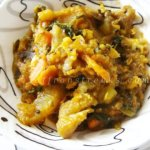labra – a medley of assorted vegetables