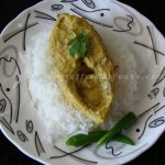 steamed hilsa flavoured with aam kasundi – a bengali mango mustard sauce