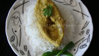Steamed hilsa flavoured with aam kasundi (aam kasundi diye ilish maach) is one of the classic way to enjoy this queen of fish called ilish / hilsa of which Bengalis are so fond of and emotionally attached too. Before we venture further into the recipe, let me give you a little insight into kasundi. Pure kasundi is also known as Bengali's  mustard sauce made with black mustard seeds, Brassica juncea most commonly known as mustard greens, mustard oil, bit of […]