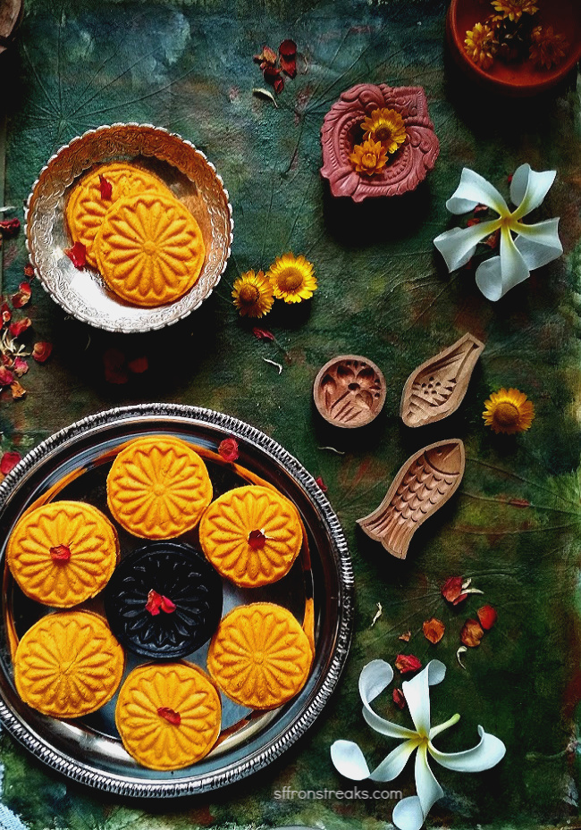 mango sandesh recipe