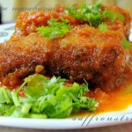 cabbage manchurian rolls – in Indo-Chinese style