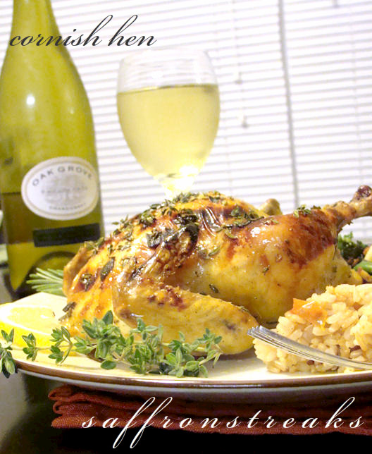cornish hen raost
