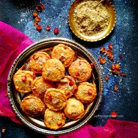mawe ki kachori and peda - Indian sweets