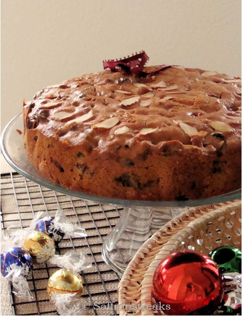 rich rum fruit cake