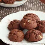 Ultimate double chocolate drop cookies