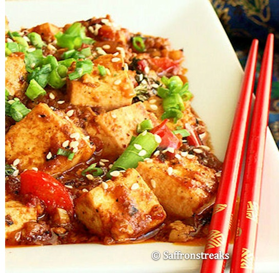 Thai style stir fried tofu with basil forumfinder