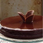 Triple chocolate fudge cake with chocolate ganache – Southern style