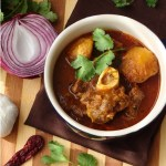 Aloo gosht – Mutton and potatoes with bit of extra spices