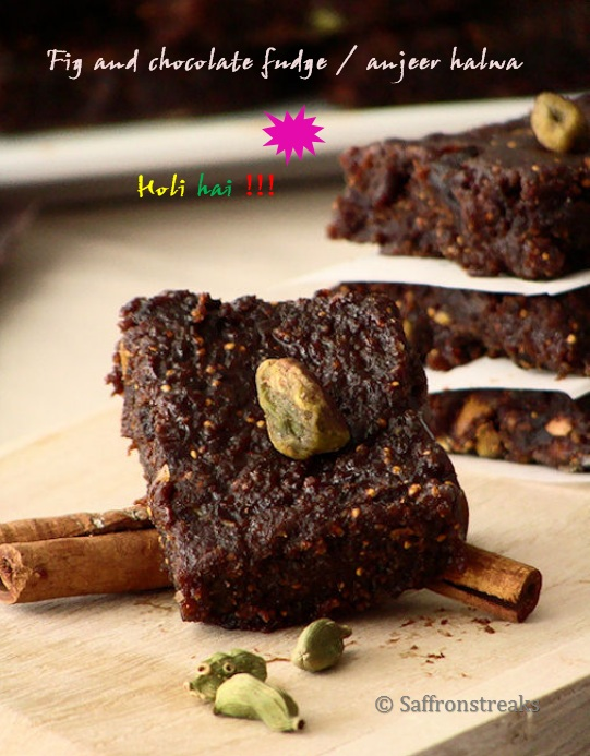 anjeer halwa fig fudge