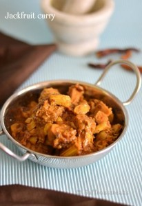 jackfruit curry Indian recipe