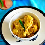 Murgi'r aam kasundi / Chicken in mango mustard sauce and how to make aam kasundi