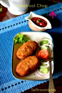 beetroot chop cutlet