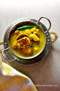 Bengali fish stew with vegetables