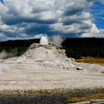 castle fort geyser yellowstone