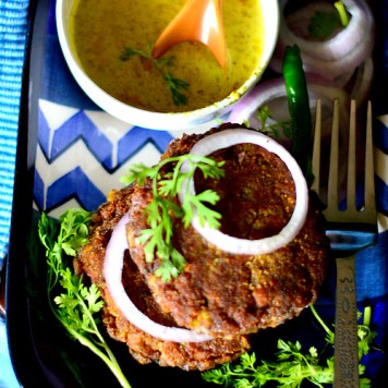 meat patties mutton keema cutlet