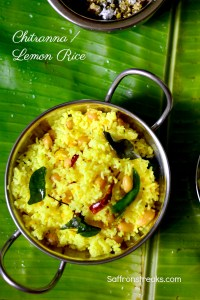 chitranna lemon rice