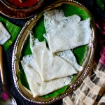 Manglorean Neer Dosa with Mutton Gassi – Kannada Cuisine