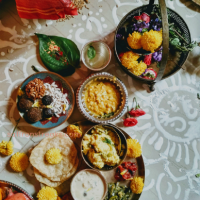 Kojagari Lakshmi puja - rituals, believes and the divine Bengali feast platter
