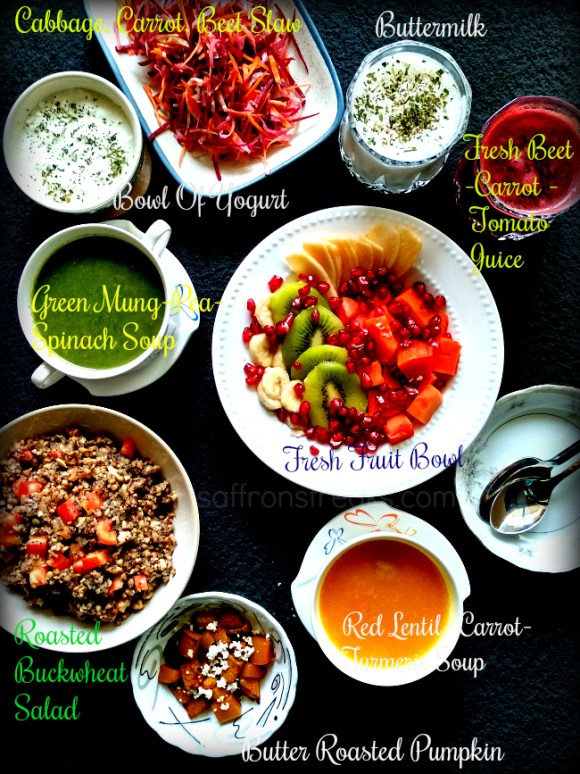 Detox diet menu plan Vegan