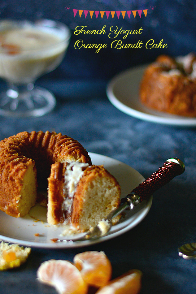 French yogurt orange cake recipe