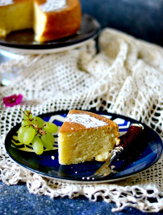 eggless sponge cake without condensed milk
