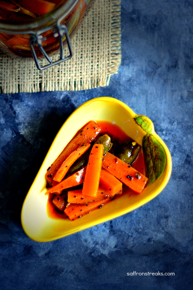 instant carrot pickle reicpe
