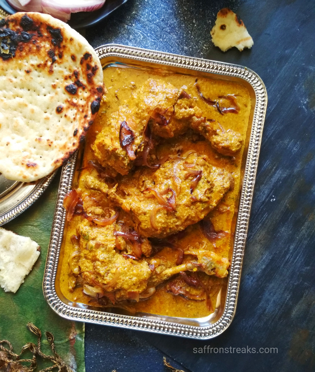 afghani chicken korma recipe