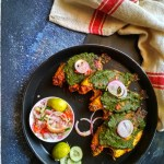 Pan Grilled Kerala Karimeen / Pearl Spot With Indian Green Chutney