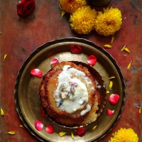 Coconut Malpua Without Sugar Syrup (Dry Version) - Festival Special