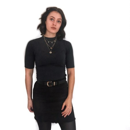 misspap denim skirt black, 5 must have items in your wardrobe this Spring #denim #skirt #womensfashion