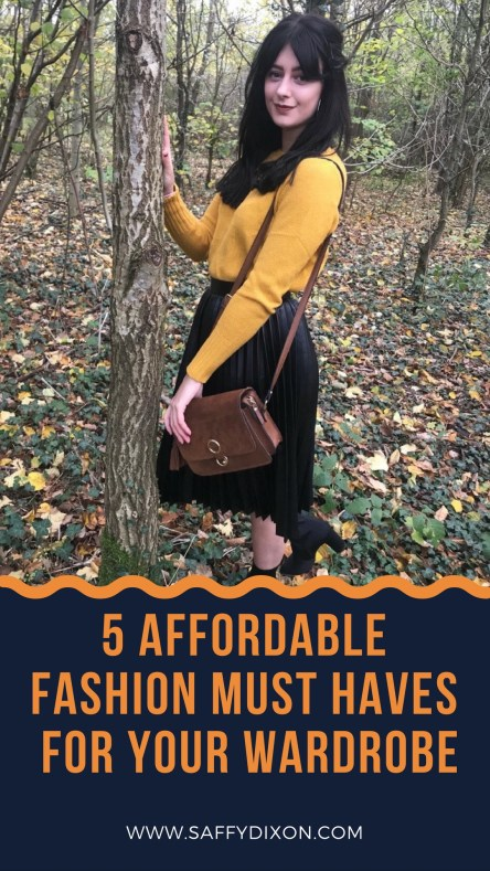 5 affordable fashion must haves for your wardrobe