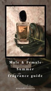 Male & Female Summer fragrance guide