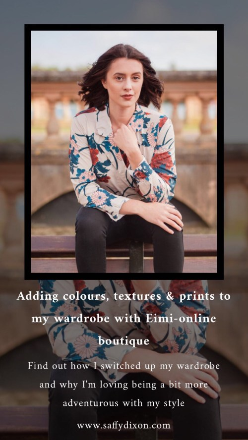 Adding colours, textures & prints to my wardrobe with Eimi-online boutique
