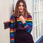 wearing print and colour