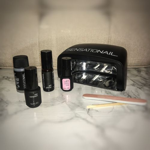 How to use the sensationail gel starter kit at home