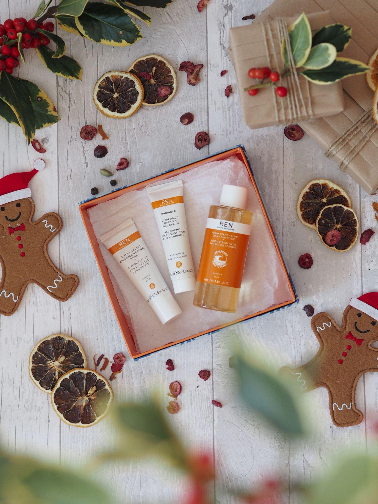 Ren Skincare - Glow To Go Trio Gift Set