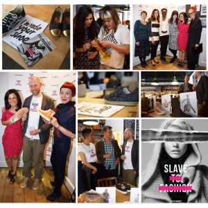 Slave to Fashion book launch
