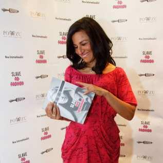 Safia Minney with Slave to Fashion