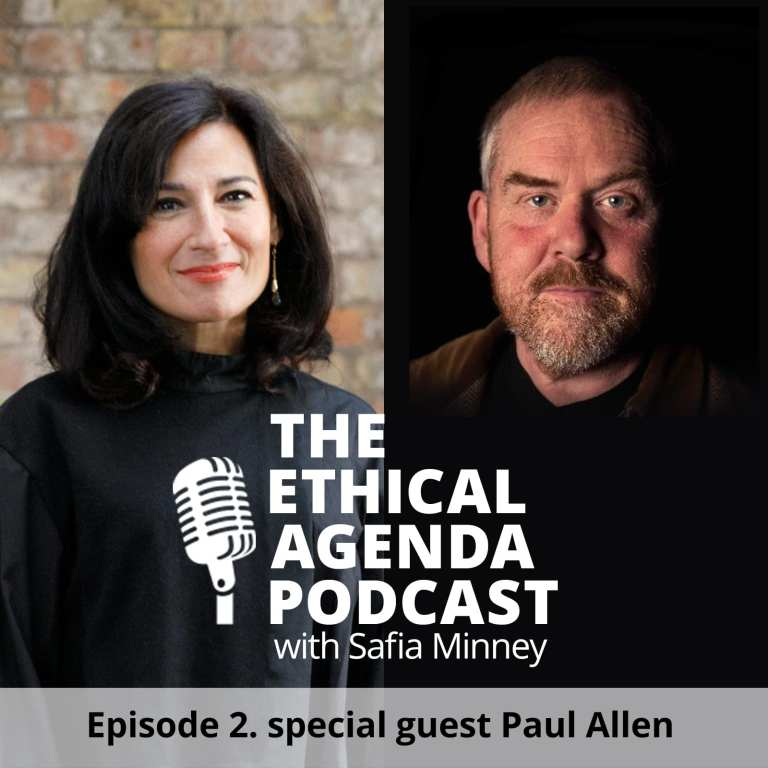 Paul Allen Safia Minney Podcast