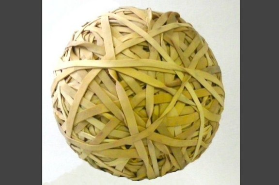 16. Make a rubber band ball