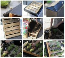 Recycled Wooden Pallet Vertical Garden Safintraroofing