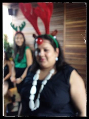 the blur of Christmas