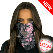 check out Pink Forest Camo Face Shield