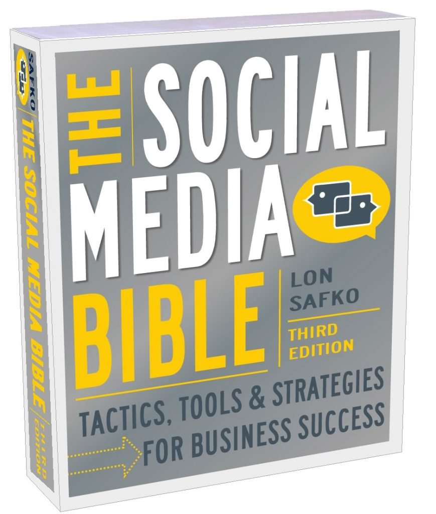 Social Media Bible, by Lon Safko