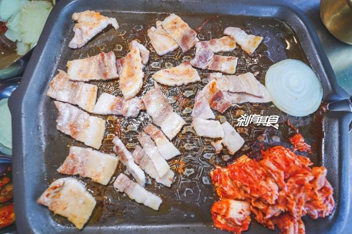 3Pig 韓國五花肉專賣店   台中韓式燒肉 韓國人開的韓式汽油桶鐵板烤肉 小菜吃到飽還有韓式湯冷麵