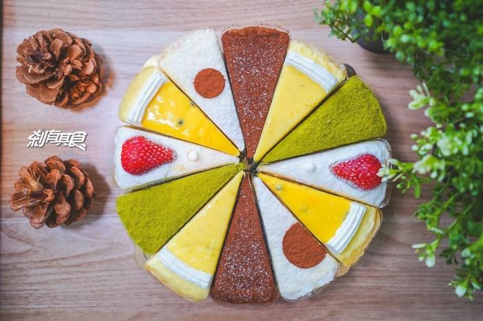 2度C Ni Guo 逢甲店 | 台中逢甲美食 好吃手工千層蛋糕 輕乳酪彌月蛋糕 母親節蛋糕首選