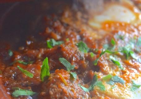Tajine kefta bayd maticha eggs in tomatosauce Safranaargana